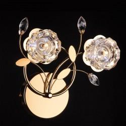 Настенный светильник EUROSVET 4826/2 золото АЗИЯ
