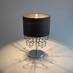 Настольная лампа с черным абажуром BOGATE*S 01094/1