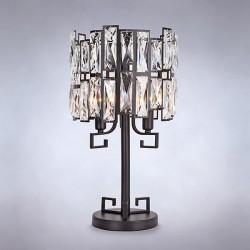 Настольная лампа с хрусталем BOGATE*S 01093/3 Strotskis