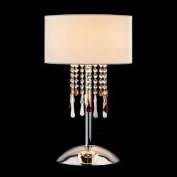 Настольная лампа с хрусталем BOGATE*S 01097/1 Strotskis