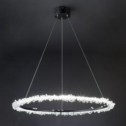 Хрустальная светодиодная люстра с пультом BOGATE*S 429/1 Strotskis