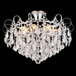 Потолочная люстра NATALI KOVALTSEVA HAPPY DIAMONDS 11545/8C CHROME (ГЕРМАНИЯ)