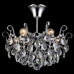 Подвесная люстра NATALI KOVALTSEVA HAPPY DIAMONDS I 11546/5C CHROME (ГЕРМАНИЯ)