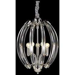 Подвесной светильник с хрусталем WERTMARK WE149.05.203 ГЕРМАНИЯ