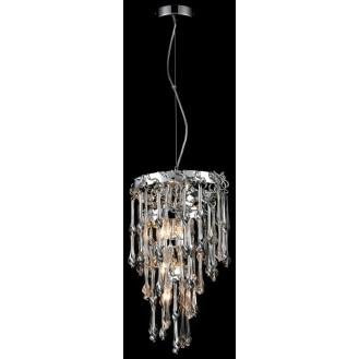 Подвесной светильник с хрусталем WERTMARK WE187.05.103