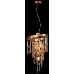 Подвесной светильник с хрусталем WERTMARK WE187.05.303 ГЕРМАНИЯ