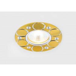 Встраиваемый светильник AMBRELLA LIGHT A808 AL/G (АЗИЯ)