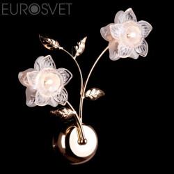 Настенный светильник EUROSVET 4827/2 золото АЗИЯ