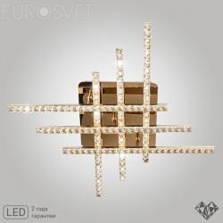 Потолочный светильник LED EUROSVET 90041/6 золото АЗИЯ