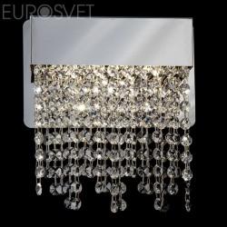 Настенный светильник LED EUROSVET 90053/1 хром АЗИЯ