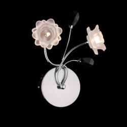 Настенный светильник EUROSVET 4853/2 хром АЗИЯ