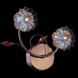 Настенный светильник EUROSVET 5136/2 золото АЗИЯ