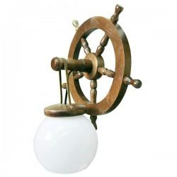 Настенный светильник ZAKLAD 72 орех (ПОЛЬША)