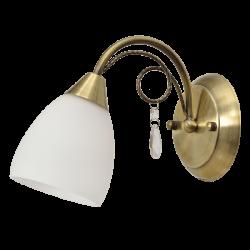 Настенный светильник DE MARKT Нежность 356023201 (ГЕРМАНИЯ)