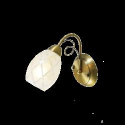 Настенный светильник DE MARKT Грация 358021301 (ГЕРМАНИЯ)