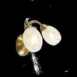 Настенный светильник DE MARKT Грация 358021402 (ГЕРМАНИЯ)